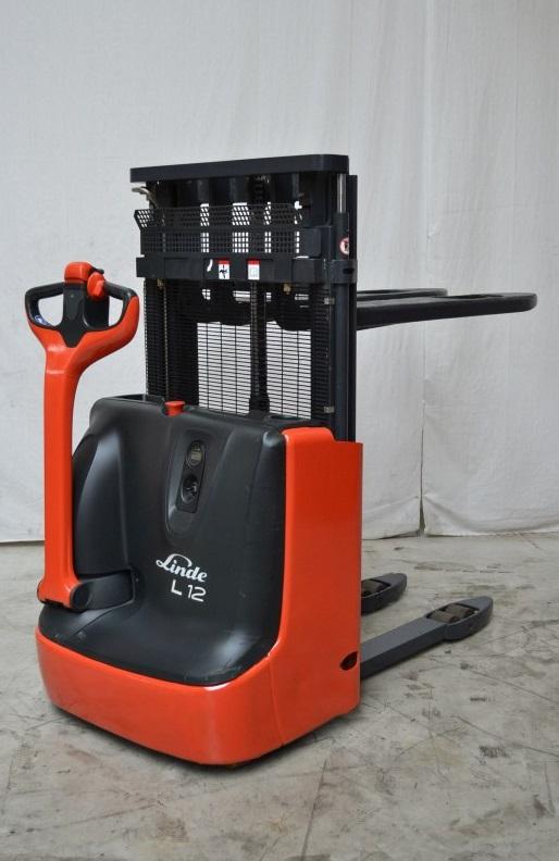Електрически стакер 1200kg Linde