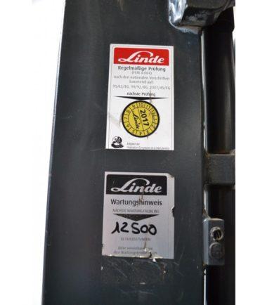 Електрокар Linde 1600kg