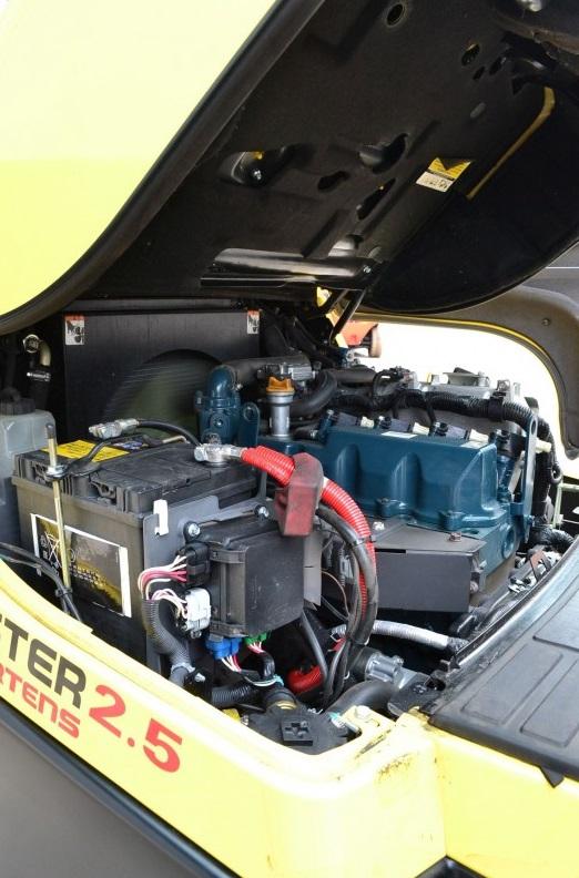 Газов мотокар Hyster H2.50FT 2500 kg