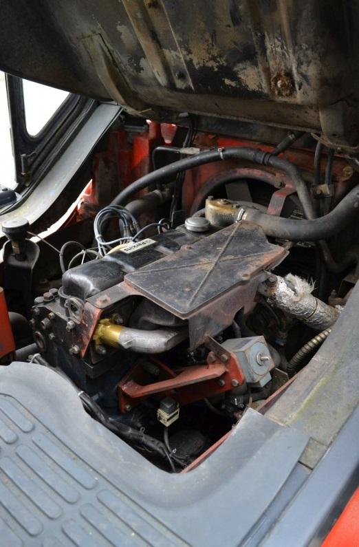 Газов мотокар Linde H45T-600 352