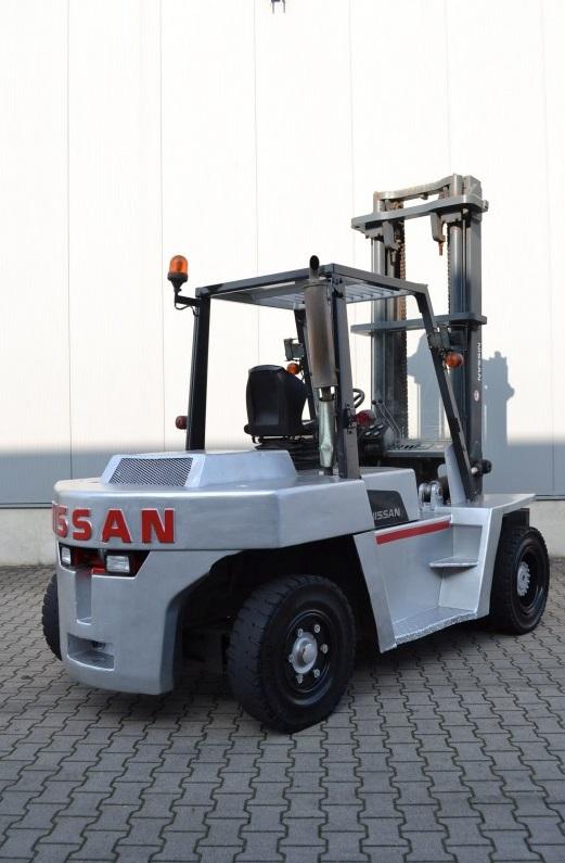 Дизелов мотокар Nissan DF05A60U 6000kg