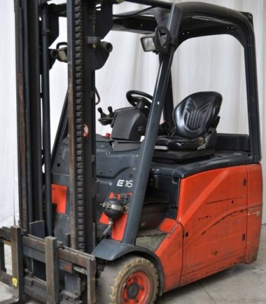 Електрокар Linde E 16H - 386 1600 kg