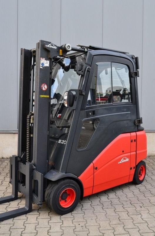 Електрокар Linde E20PHL-01 386 2000 kg