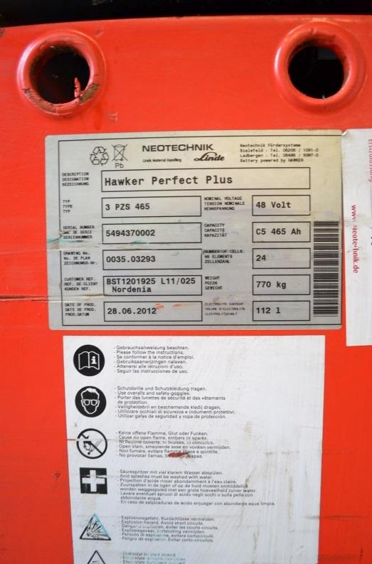 Рийчтрак Linde R16S-12 1600 kg