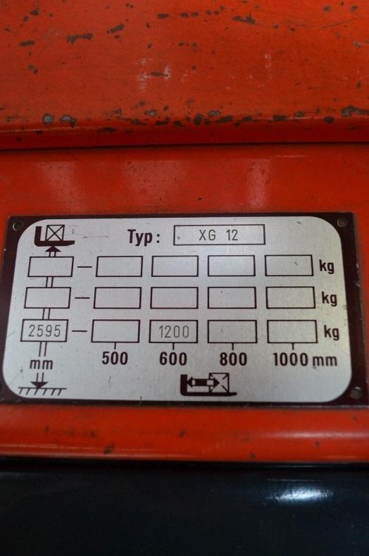 Стакер Linde 1200 kg