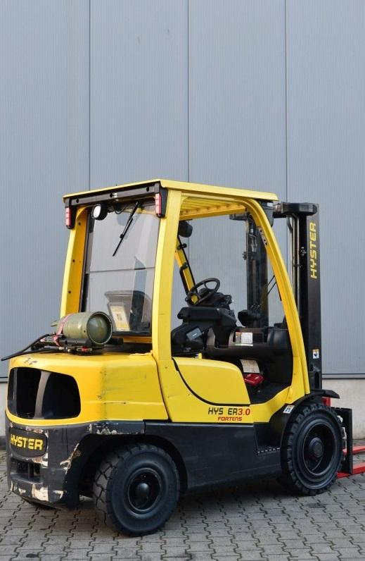 Газов мотокар Hyster H3.00FT 3000 кг