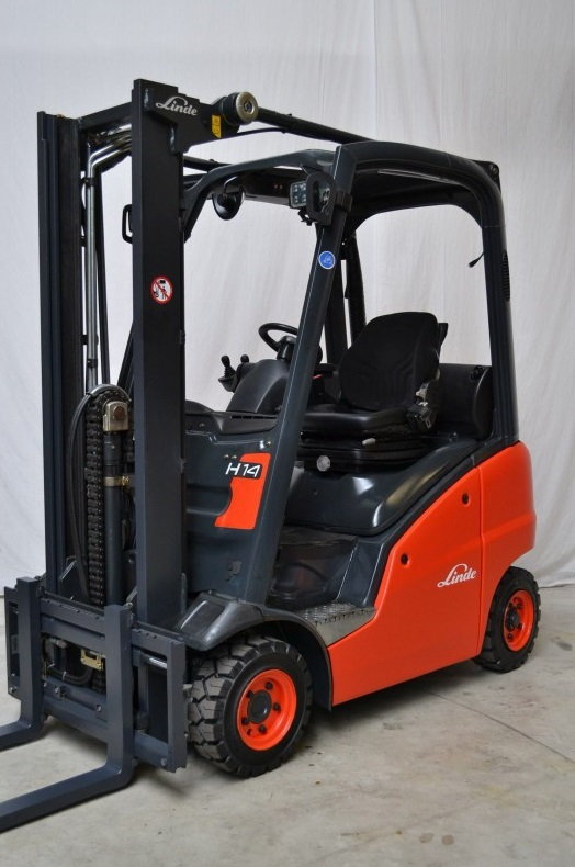 Газов мотокар Linde H14D 391 1400 кг