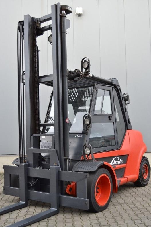 Дизелов мотокар 8000 кг Linde H 80 D-900-03 353