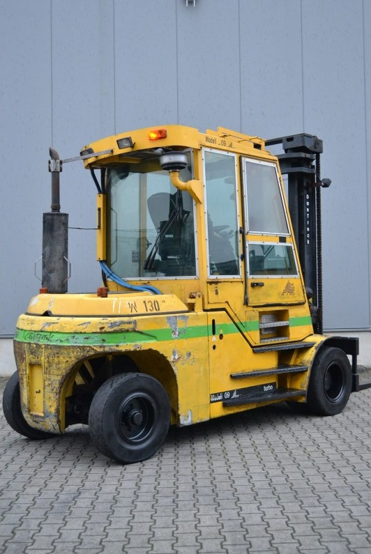 Дизелов мотокар Dan truck 8009 DD 8000кг