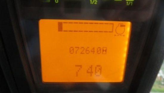 Дизелов мотокар Linde H80D-1100 396 8000 kg
