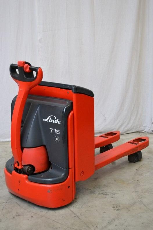 Електрическа количка 1600 кг Linde T16 (360)