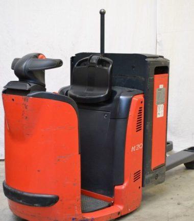 Ордер пикър Linde N20 132 Предлагаме складова машина тип ордер пикър втора употреба Linde модел N20 132. Ордер пикърът е предназначен за обслужване на ниски стелажни