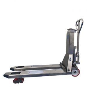 Палетна количка с кантар