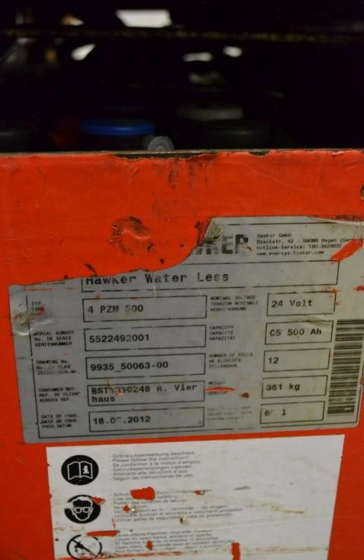 Стакер Linde 1200 кг L12LHP 133