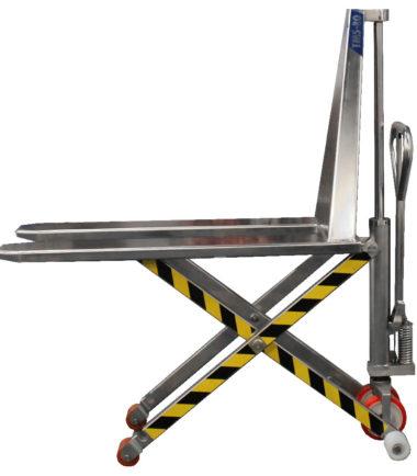 Механична ножична иноксова количка BADA TMS 80
