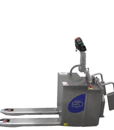 Електрическа количка с платформа Bada-20-TP9