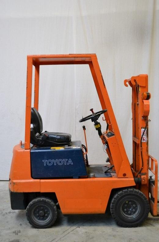 Електрокар Toyota 2FBL9 4-опорен