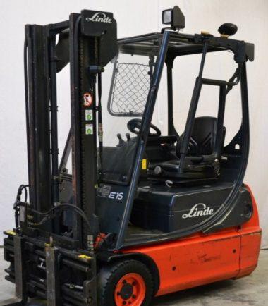 Електрокар 1600 кг Linde E16C 335 02