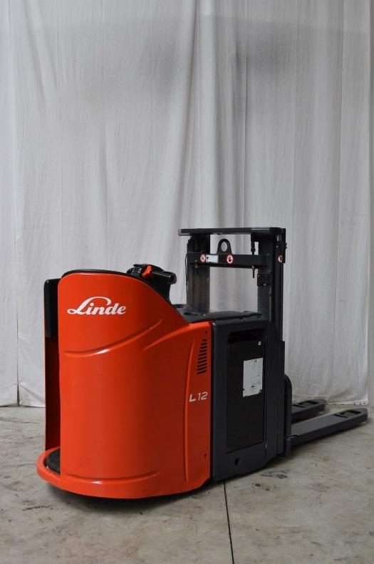 Електрически стакер Linde L12LSP 133