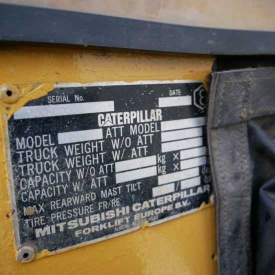 Дизелов мотокар Caterpillar DP45 4500 kg