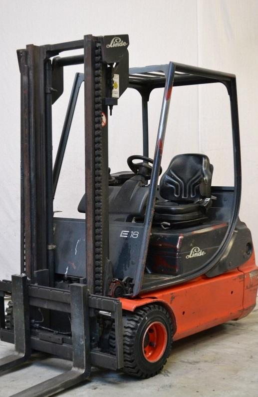 Електрокар Linde E18C 335 1800 kg