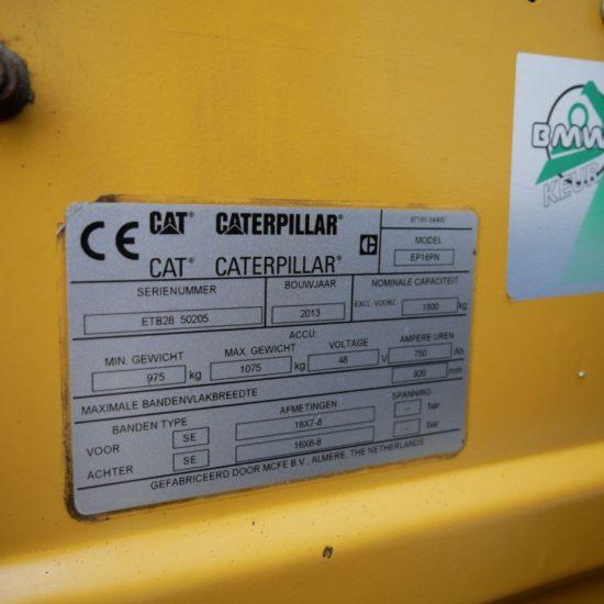 Електрокар Caterpillar EP18 PN