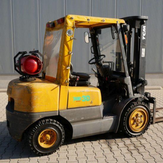 Газов мотокар Toyota FG30 N5 3000 kg