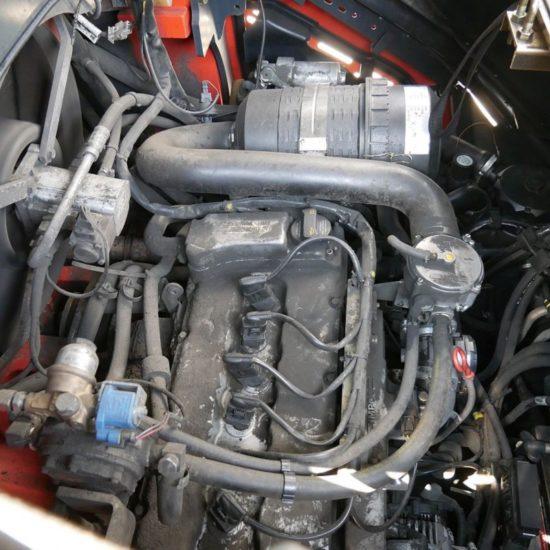 Газов мотокар Linde H45T 01 394