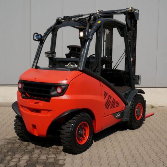 Дизелов мотокар Linde H50D-02 EVO 394 5000kg
