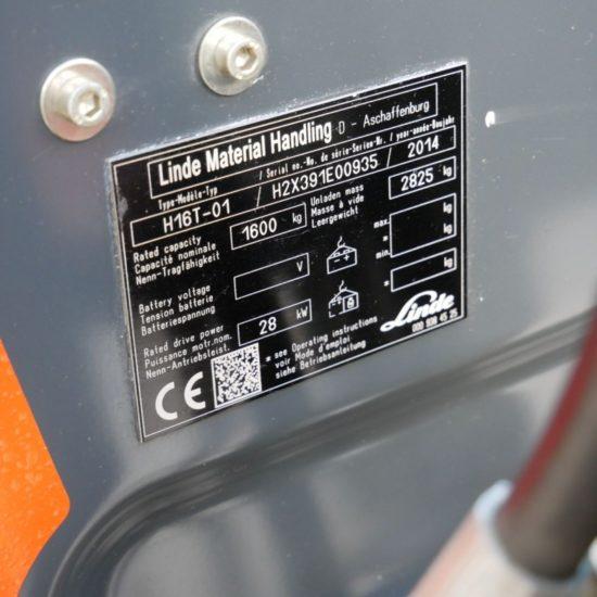 Газов мотокар Linde H16T 391