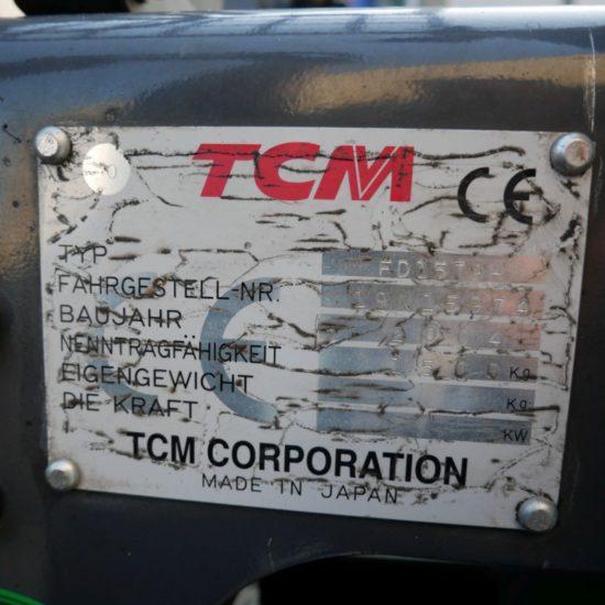 Дизелов мотокар TCM FD15TH-9