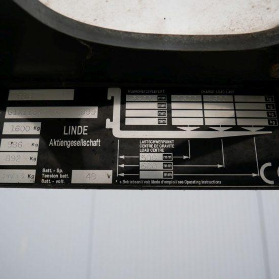 Електрически рийчтрак Linde R 16