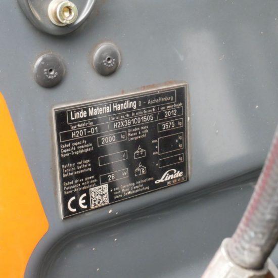 Газов мотокар Linde H20T 391