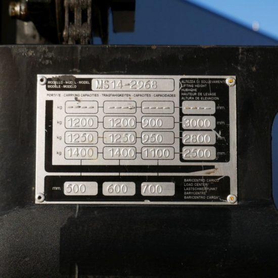 Електрически стакер Yale MS 14-2968