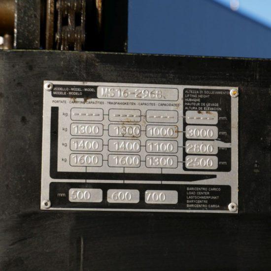Електрически стакер Yale MS 16