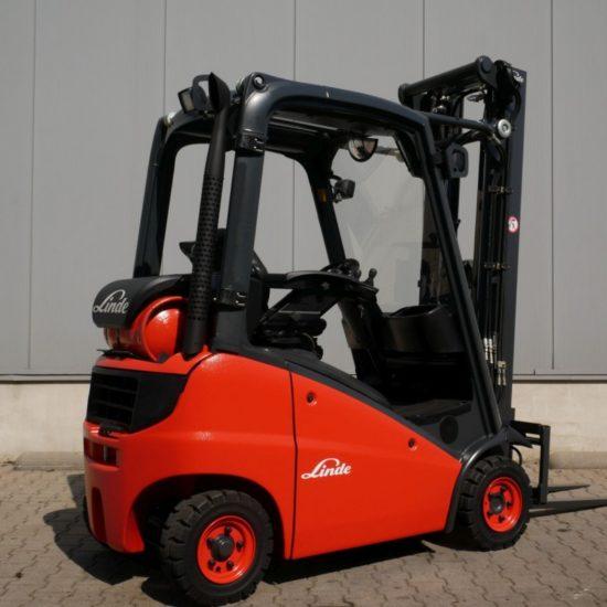 Газов мотокар Linde H16T 391 1600kg