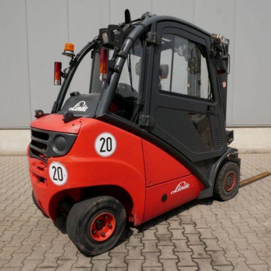 Газов мотокар Linde H25T 392 2500 кг