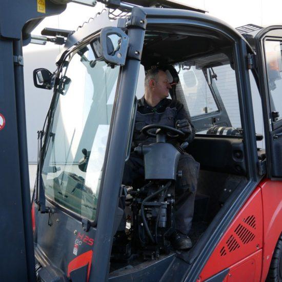 Дизелов мотокар Linde H 25 D-600 393 EVO