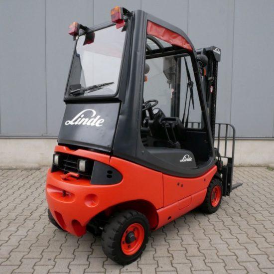 Дизелов мотокар Linde H16D 350-03