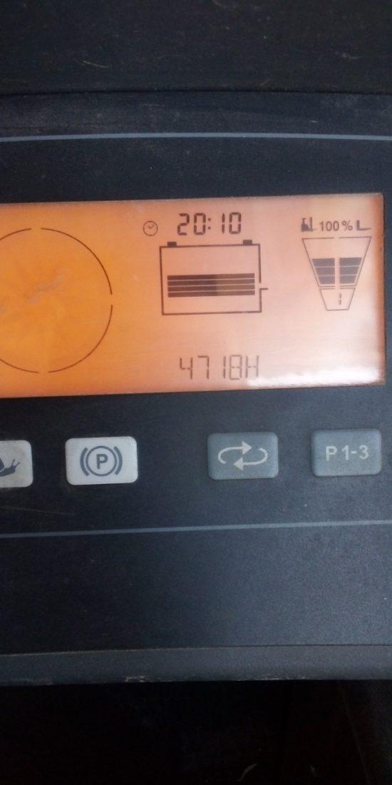 Електрически рийчтрак Jungheinrich 1400 kg