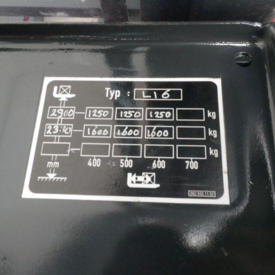 Електрически стакер Linde L 16 372