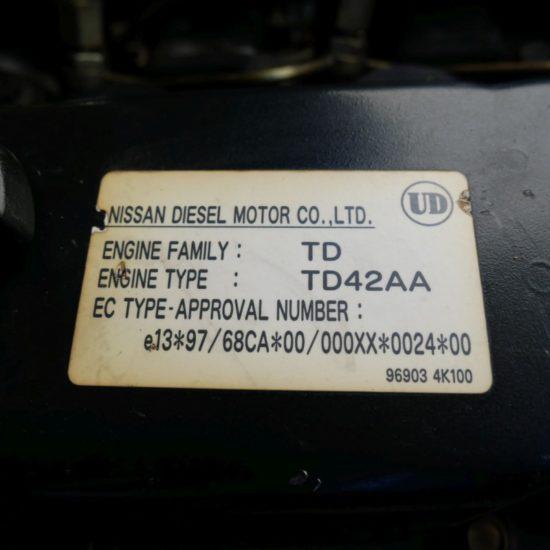 Мотокар дизелов Nissan WF03-A35U