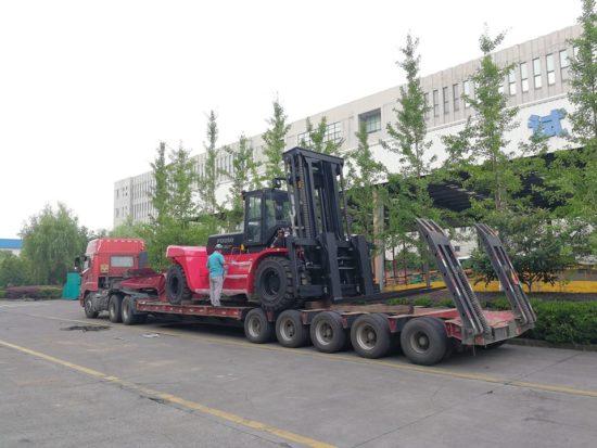 Дизелов мотокар Feeler 25000 kg